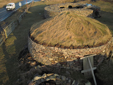 Old Scatness Broch roundhouse