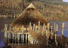 The Scottish Crannog Centre roundhouse