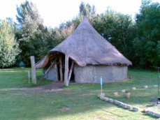 Hinchinbrooke Country Park roundhouse
