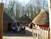 St. Fagans Museum roundhouse