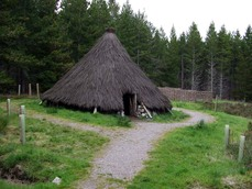 Abriachan Forest roundhouse
